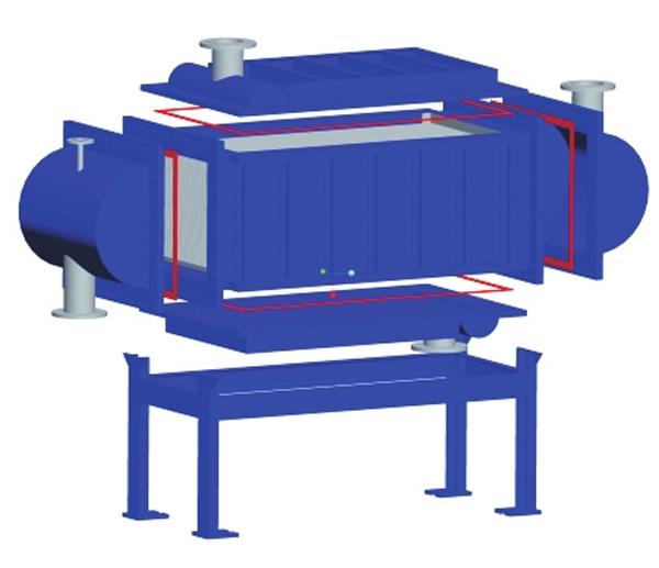 全焊板式换热器