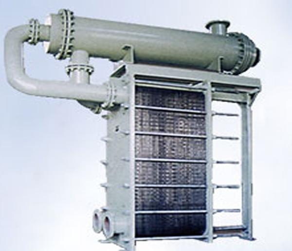 高温板式换热器